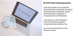 dsgvo online schulungssystem