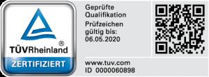 TÜV externer Datenschutzbeauftragter