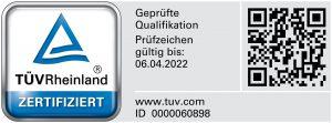 Datenschutzbeauftragter TÜV Signet