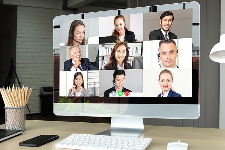 Aufgepasst bei Online-Videokonferenzen!
