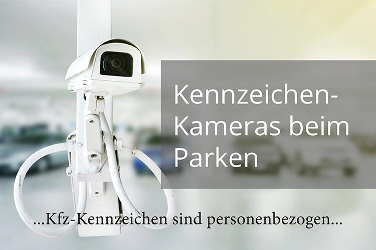 Kennzeichen-Kameras beim Parken